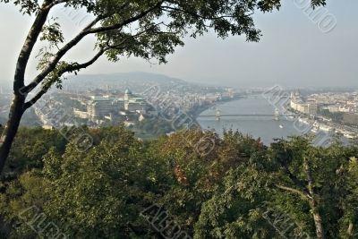 Danube with Royal palace.