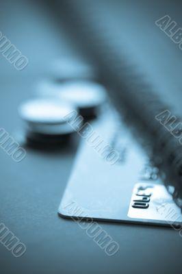 credit card finance concept
