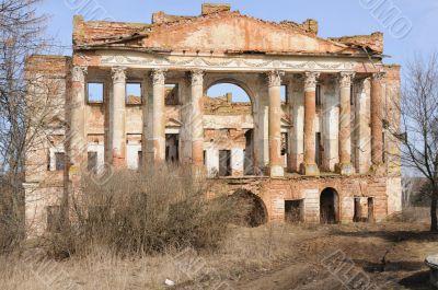 ruins palace 18 century