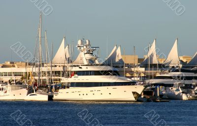 Superyacht On The Gold Coast