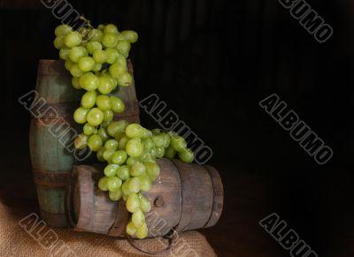 A bunch of grape
