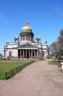 Cathedral of Saint Isaak in St Petersburg
