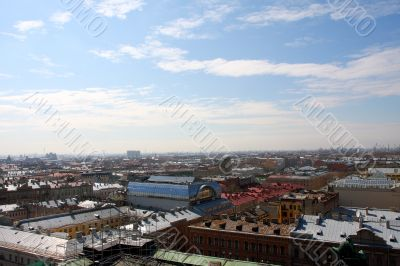 Panorama of St.-Petersburg