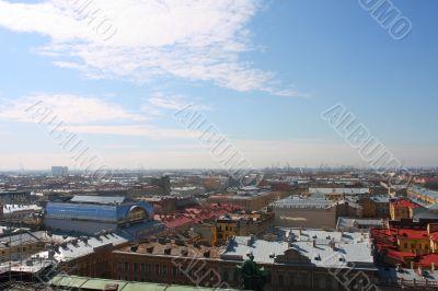 Panorama of St.-Petersburg