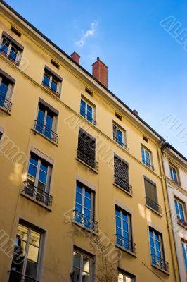 Blue sky in windows