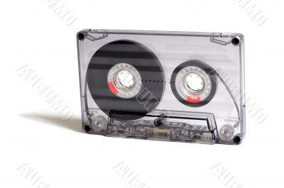 transparent audiocassette