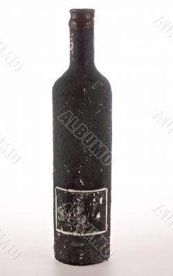 Vintage bottle of wine