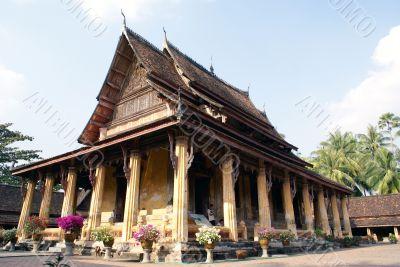Wat in Vientiane