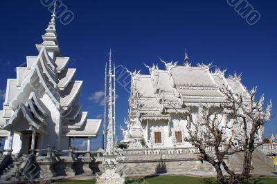 Temple and stupa
