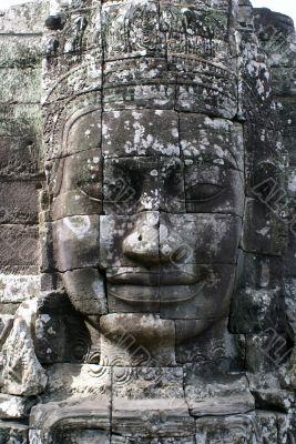 Khmer god