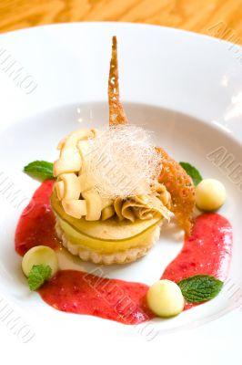 Lemon Crusted Dessert