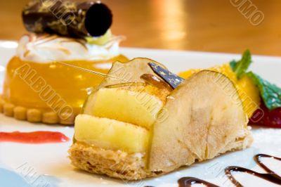 Lemon Mousse Dessert
