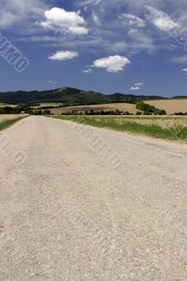 Road and land