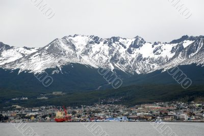 Port Ushuaia,  Argentina, South America.