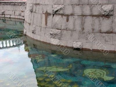 Decorative reservoir