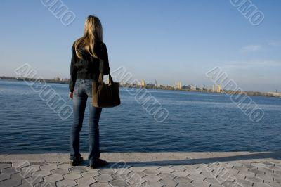 looking at horizon