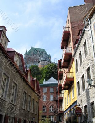 buildings in the old quebec