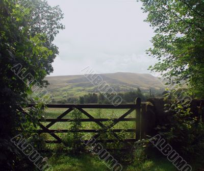 Gate to the Countryside