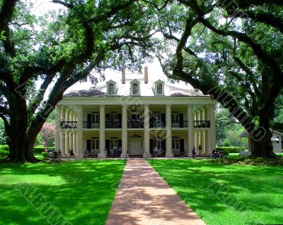 Oak Alley Mansion Louisiana