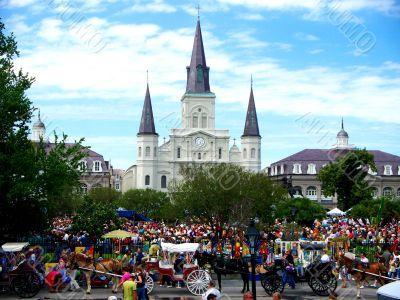 Saint Louis Cathedral Jackson Square