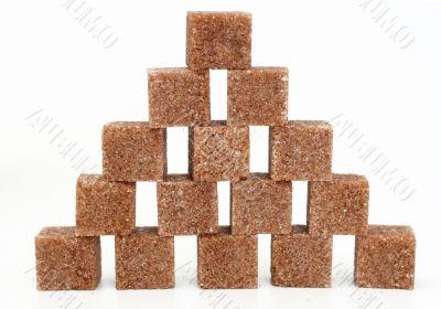 pieces of brown sugar