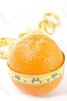 Orange with yellow meter