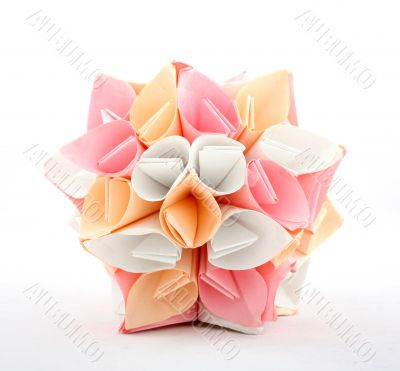 Decoration made from paper