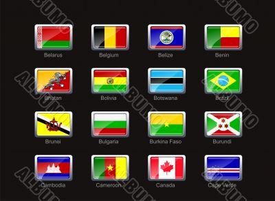 Flag icon set  - part 2