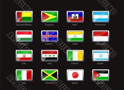 Flag icon set  - part 5