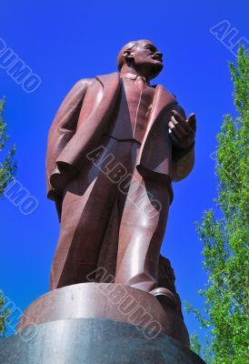 Lenin monument in Kiev