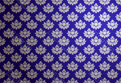 Vector blue and silver glamour pattern