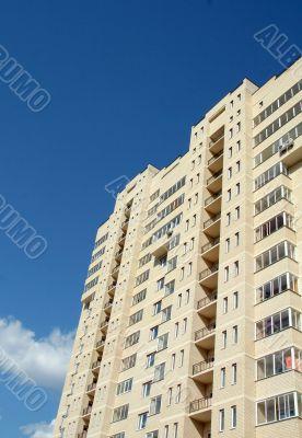 Inhabited multi-storey building