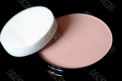 Face Powder and Sponge