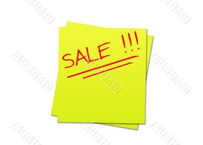 Sticky note sale