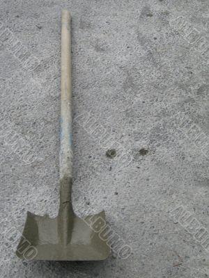 dirty shovel
