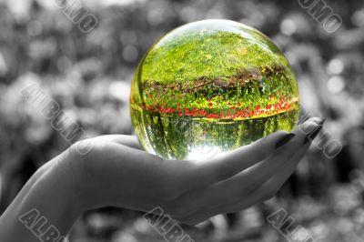 Magic sphere 3