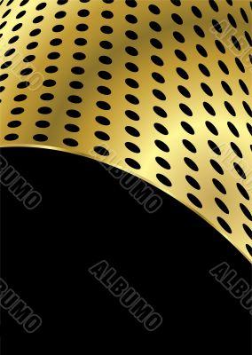 metal bend gold