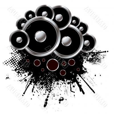 rnd speaker grunge