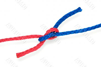 Fisher`s knot 02 tight