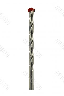 Drill bit with red top