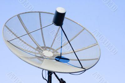 Giant parabolic antenna