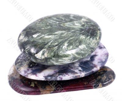A three stones stack