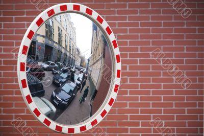 Mirror,street