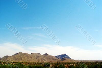 Arizona Hills and Desert