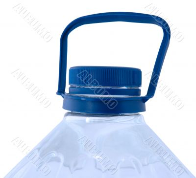 Bottled pure water.