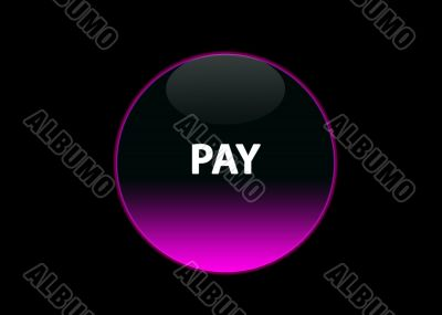 pink neon buttom pay