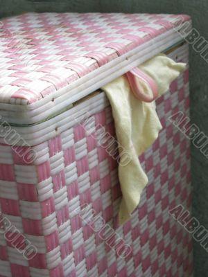 basket for linen