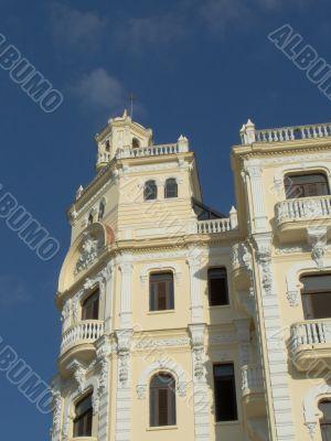 Restored building in Old Havana
