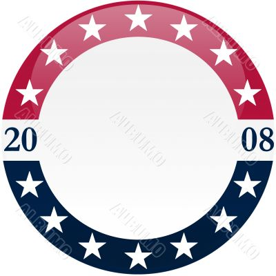 2008 Elections Round Button