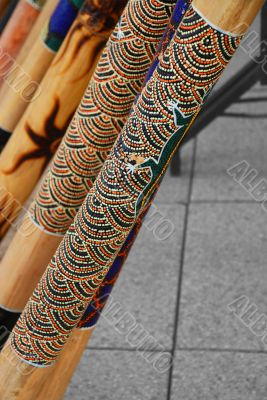 A Didgeridoo Display